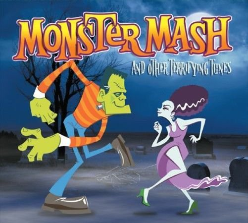 10song ORCHESTRA CD monster mash,GHOSTBUSTERS,purple people eater,Love Potion 9