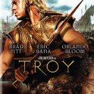 TROY dvd 2009 Brad Pitt,Orlando Bloom,Peter O'Toole,Sean Bean,Diane Kruger