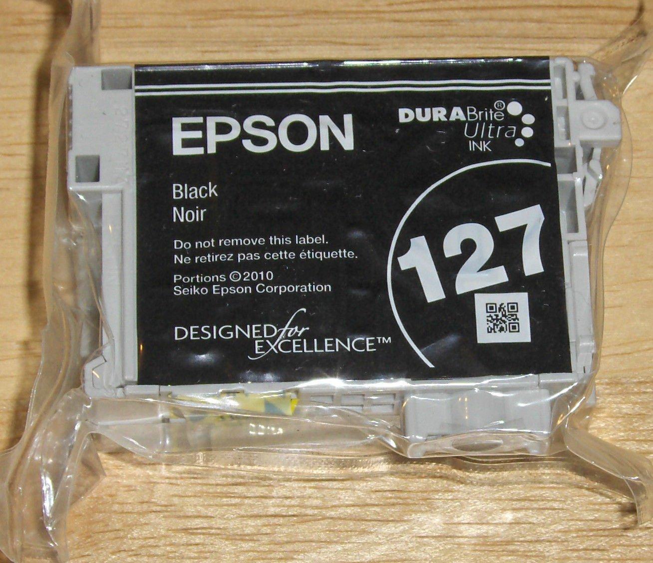 Epson 127 XL T1271 black ink jet = printer WorkForce 545 630 645 NX530 NX625