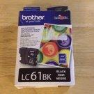 LC61BK BROTHER black ink - Printer MFC 295CN 290c 490cw 495cw 790cw 795cw 990cw