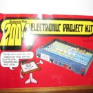 MANUAL ONLY - Science Fair 200 In One Electronic Project Kit Lab Cat.No. 28-265