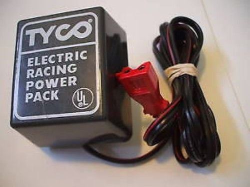 Tyco 20volt dc ADAPTER CORD Electric Racing slotcar set track Power Pack supply