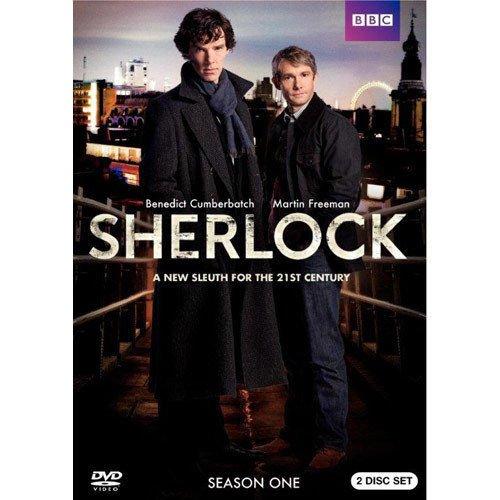 Sherlock: Season One [2 Discs] DVD Region 1 Benedict Cumberbatch Martin Freeman