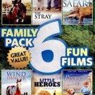 6movie DVD Kirstin DORN Fran GABLE Pamela GUEST Kyla PRAT Diane LADD Debby BOONE