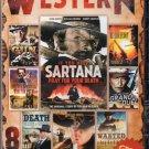 8Movie DVD Terence Hill,William Berger,Mark Damon,Lee Van Cleef,John Carradine