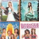 4movie DVD My Fake Fiance,Princess,Au Pair 3,Revenge Bridesmaids,Joey LAWRENCE