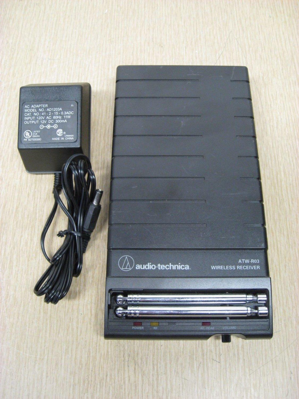 Audio Technica model ATW R03 Wireless Receiver professional VHF console