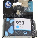 933 cyan BLUE color HP ink - OfficeJet 6100 6600 6700 7110 7610 7612 printer