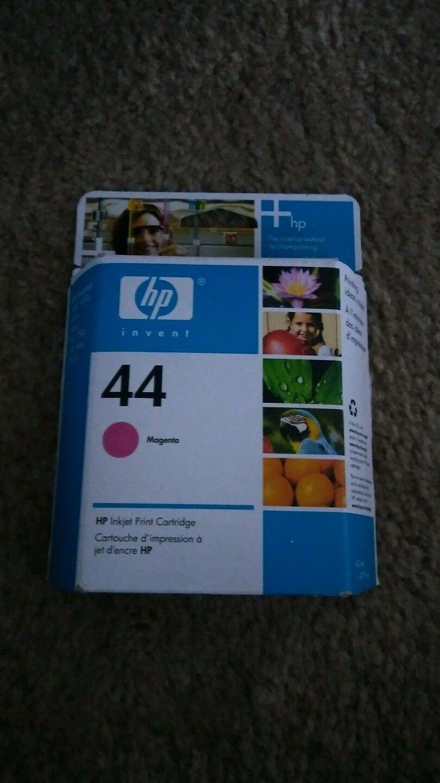 44 HP Magenta red ink DesignJet 350 c 450 c 455ca 488ca 750 c plus 755cm printer