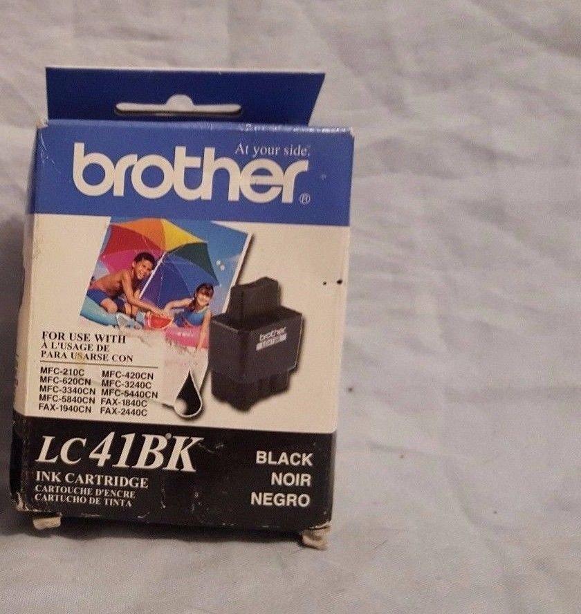 LC41BK BROTHER BLACK ink jet Printer MFC 5440CN 5840CN 3340CN 820cw 620CN 420CN