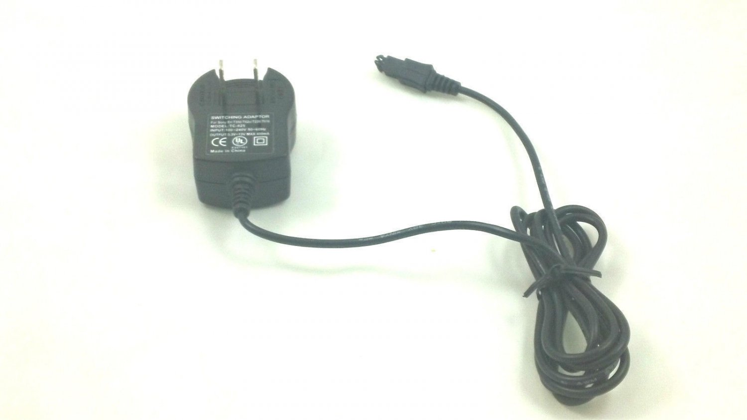 battery charger = Sony Ericsson T300 T306 cell phone electric plug power adapter