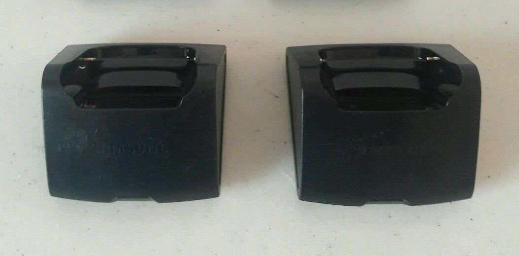 2 Cradle ONLY - Samsung ABTC828CBZ Desk Top base stand remote charger charging