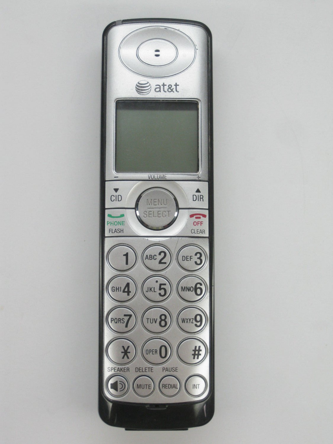 AT T CL82659 handset = CORDLESS hand set tele PHONE att charging remote wireless