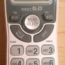 Vtech CS6114 handset - CORDLESS white tele PHONE caller ID LCD display DECT 6.0
