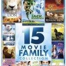 15movie DVD Gullivers Travels,Alligator Pie,Running Wild,Black Beauty,Wonderbird