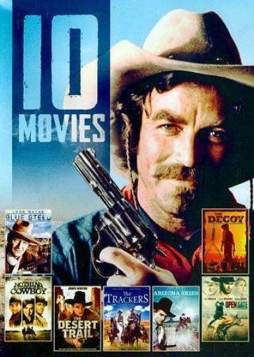 10Movie DVD Arizona Skies,TRACKERS,Desert Trail,DECOY,Ryan GOSLING Tom SELLECK