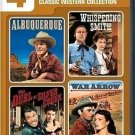 4movie DVD War Arrow,Duel Silver Creek,Maureen OHARA Faith DOMERGUE Susan CABOT