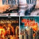 3movie plus DVD Weather Wars Miami Magma Rachel HUNTER Melissa ORDWAY Kim LITTLE