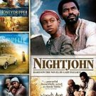 4movie DVD Honey Dripper,NightJohn,Patricia RICHARDSON Lynn WHITFIELD Dan GLOVER