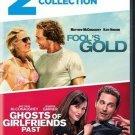 2movie DVD FOOLS GOLD,Matthew MCCONAUGHEY Kate HUDSON Jennifer GARNER Emma STONE