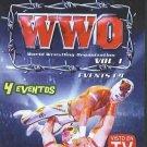 WWO WORLD WRESTLING ORGANIZATION VOL.1 DVD MOVIE 240mins. events 1-4 LUCHA LIBRE