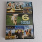 6movie DVD Miranda COSGROVE Mickey ROONEY Patricia WETTIG John DENVER KANSAS