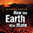 HOW THE EARTH WAS MADE season one first 1 DVD 4disc 10hrs 13epi HISTORY CHANNEL