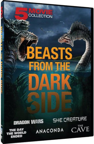 5movie 7hrs DVD She Creature,Day World Ended,The Cave,Dragon Wars,Jennifer LOPEZ