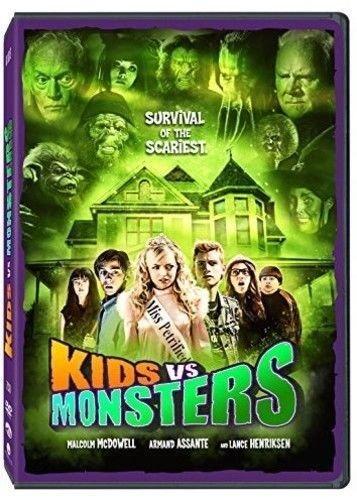 Kids vs Monsters DVD Malcolm MCDOWELL Armand ASSANTE Francesca EASTWOOD