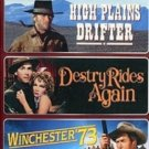 3movie DVD WINCHESTER73 High Plains Drifter,Una MERKEL Verna BLOOM Mariana HILL