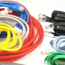 10 standard (8ft+) internet modem plug computer cords cables bunch router wires