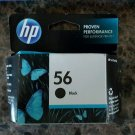 FACTORY SEALED - 56 BLACK ink jet HP PhotoSmart 7550 7450 7350 7260 printer