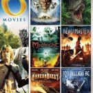 6movie color DVD Merlin War Dragons,Journey Center Earth,BEASTMASTER,DRAGONQUEST