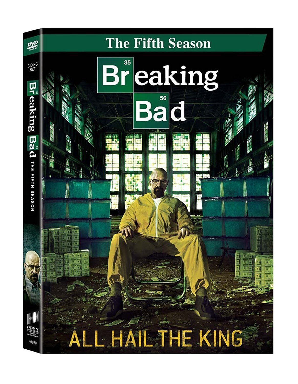 BREAKING BAD fifth Season 5th five DVD Bryan CRANSTON Anna GUNN Aaron PAUL