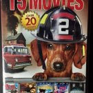 15movie DVD Captain Courageous,Harleys Mill,JOURNEY,Pets to the Rescue,Tom Alone