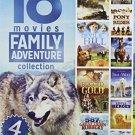18movie DVD Pony Express Rider,LOST,Devils Hill,Rugged Gold,JOURNEY,Brave Alaska