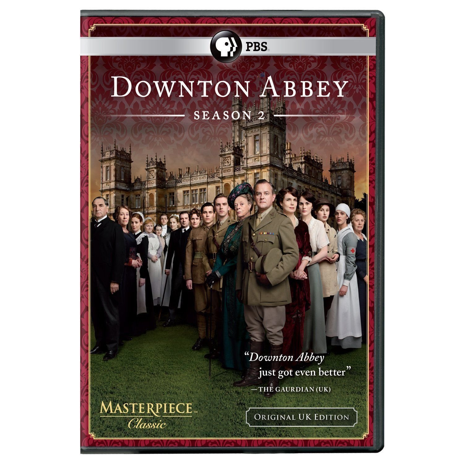 DOWNTON ABBEY second SEASON 2nd DVD downtown Elizabeth MCGOVERN Maggie SMITH