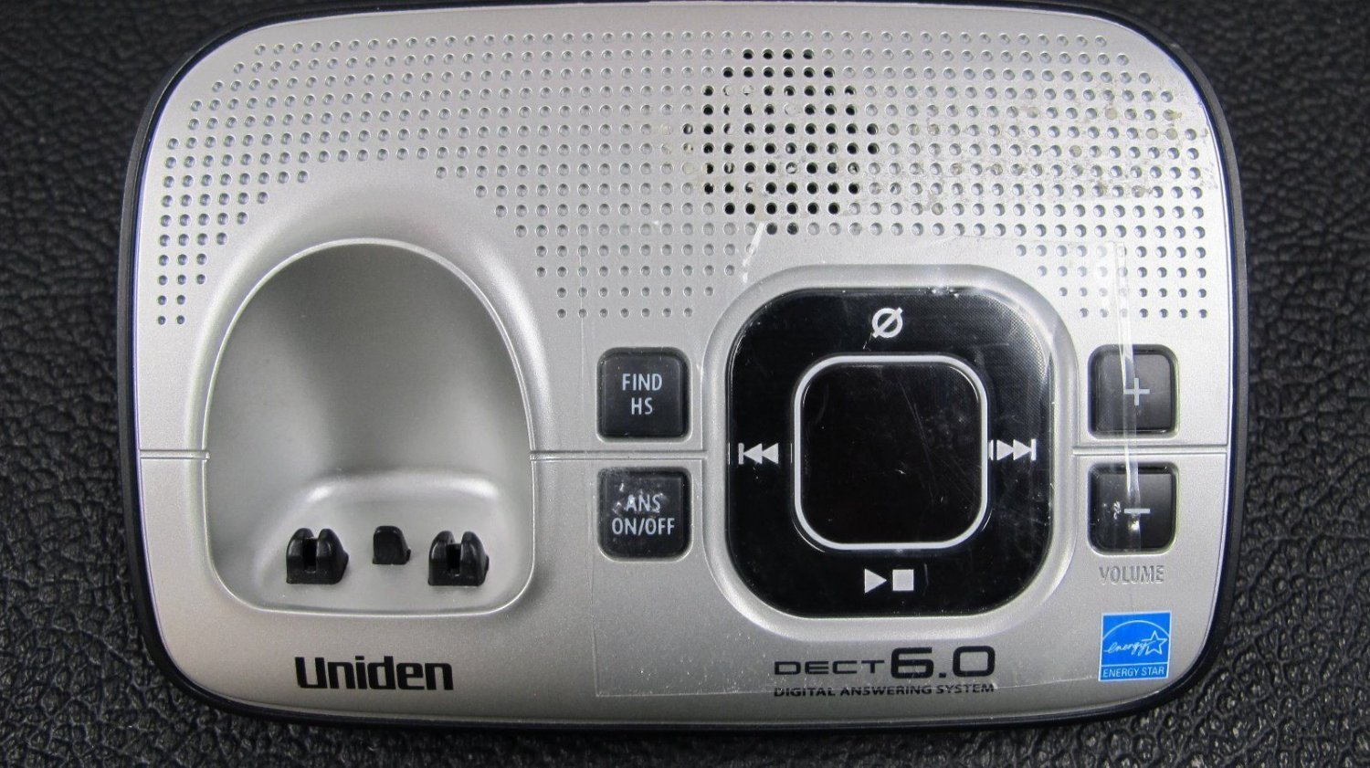 UNIDEN D1680 2 Main CHARGER BASE - charging stand cradle Answering System DECT6