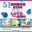 51song 3CD This Old Man,BINGO,Alphabet Song,Brush Your Teeth,Wheels on the Bus