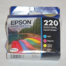 Epson T220 cyan blue red yellow Ink WorkForce WF2630 WF2650 WF2660 printer 220