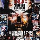 10movie DVD Grave Mistake,OMEGA,Hide Creep,Awaken Dead,King Zombies,Teenage,DEAD