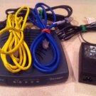 Motorola model VT2142 VD Vonage VOIP tele phone modem internet router ethernet