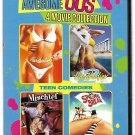 4movie 3disc DVD Roberta COLLINS Kelly PRESTON Jayne MODEAN SPRINGBREAK MISCHIEF