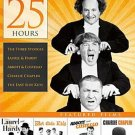 4-disc 25hr DVD Laurel Hardy Abbott Costello Curly HOWARD Leo GORCEY Huntz HALL