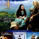 4movie DVD The Old Curiosity Shop,David Copperfield,Sally WALSH Peter USTINOV