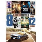 8Movie DVD CROSSHAIRS,LITTLE ASSASSIN,GUNSHY,CHOKE,The CONTRACT,FALL,NOTORIOUS