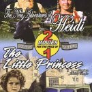 2movie New Adventures Heidi & Little Princess DVD Katy KURTZMAN Burl IVES