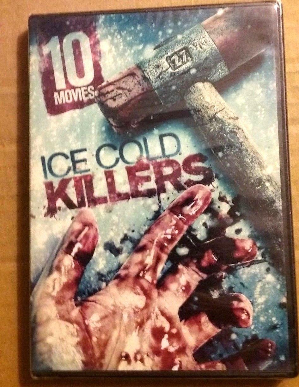 10movie DVD Visions Murder,DISTURBED,Dead Winter,NOBODY,Frozen Fear,Dead Sleep
