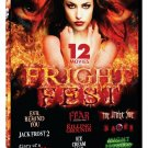 12movie DVD Jack Frost 2,Diary Serial Killer,The Fear,OTHER SIDE,Within The Rock