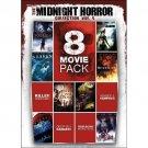 8movie DVD Night Shadow,Blood Red Moon,Raging Sharks,the Last Vampire,BloodLock